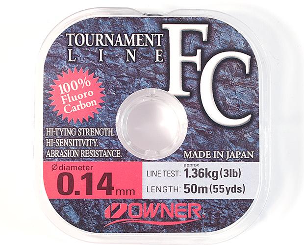 Флюорокарбоновая леска OWNER Tournament FC