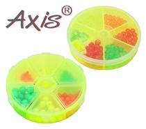 Изображение AX-84504/506 Бусины-стопоры пластиковые