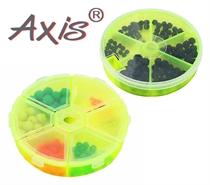 Изображение AX-84505/507 Бусины-стопоры резиновые