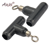Изображение AX-84615-00 «T» swivel beads black