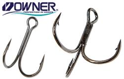 Крючки двойные и тройные Owner/C'ultiva оптовая торговля